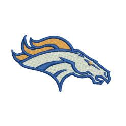 Denver Broncos Machine Embroidery Design