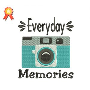 Everyday Memories Machine Embroidery Design