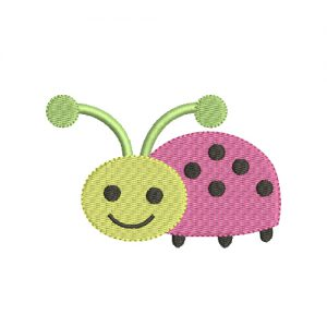 Ladybug Machine Embroidery Design