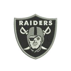 Oakland Raiders Machine Embroidery Design