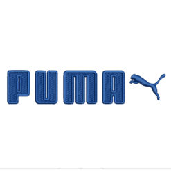 Puma Logo 1 Machine Embroidery Design