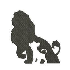 Simba Mufasa Silhouette