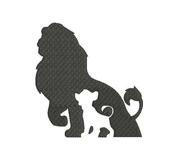Silueta De Simba Mufasa