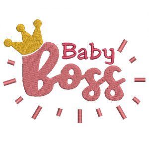 Baby Boss Machine Embroidery Design
