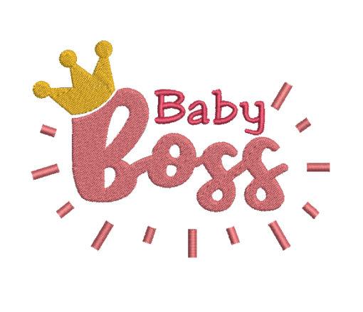 Baby Boss Machine Embroidery Design