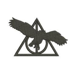 Deathly Hallows Owl Silhouette