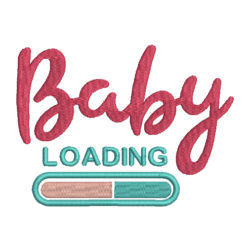 Baby Loading Machine Embroidery Design