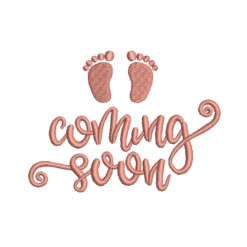 Comming Soon Machine Embroidery Design