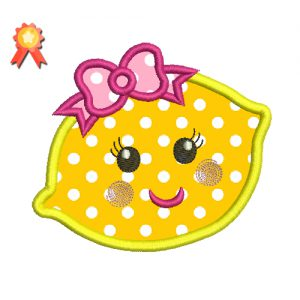 Cute Lemon Applique