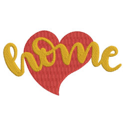Love home Machine Embroidery Design