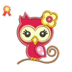 Mini Cute Girl Owl