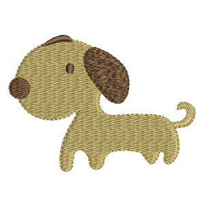 Puppy Machine Embroidery Design