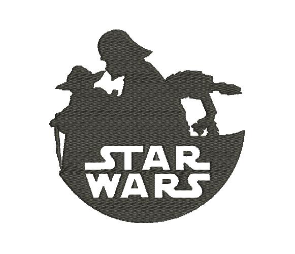 Star Wars Silueta