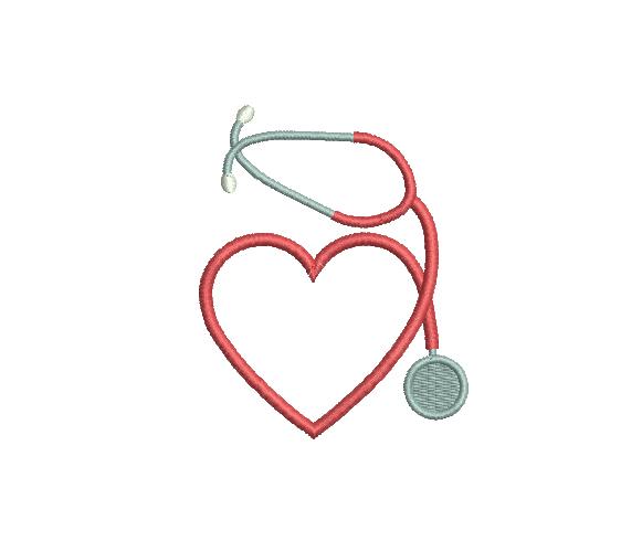Estetoscopio Con Corazón