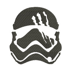 Stormtrooper Star Wars Silhouette Machine Embroidery Design