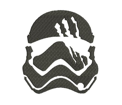 Stormtrooper Star Wars Silhouette Machine Embroidery Design