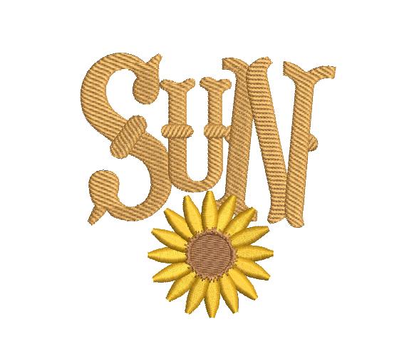 Sol Con Flor