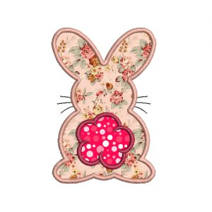 Bunny Easter Machine Embroidery Design