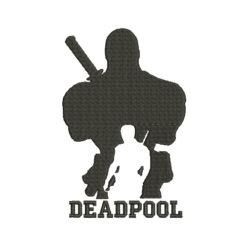 Deadpool Machine Embroidery Design
