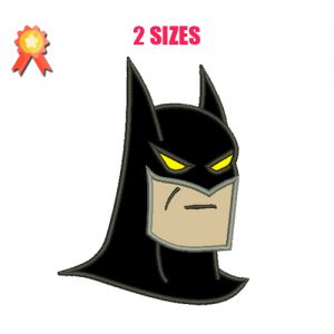 Batman Applique Machine Embroidery Design