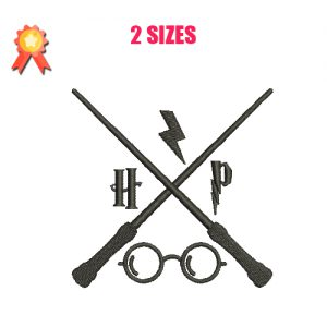Harry Potter Elements Machine Embroidery Design