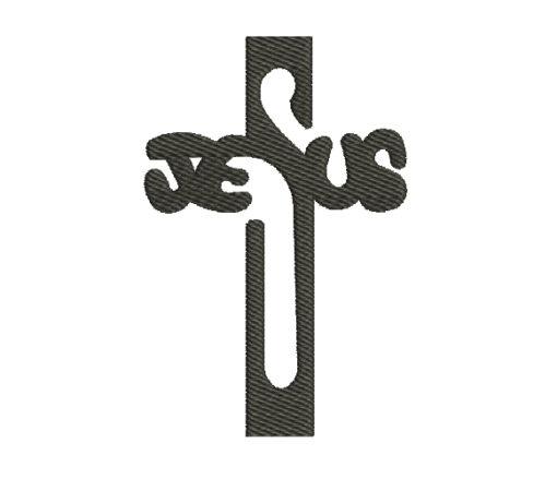 Jesus Machine Embroidery Design