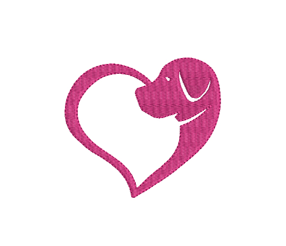 Love Dogs Machine Embroidery Design