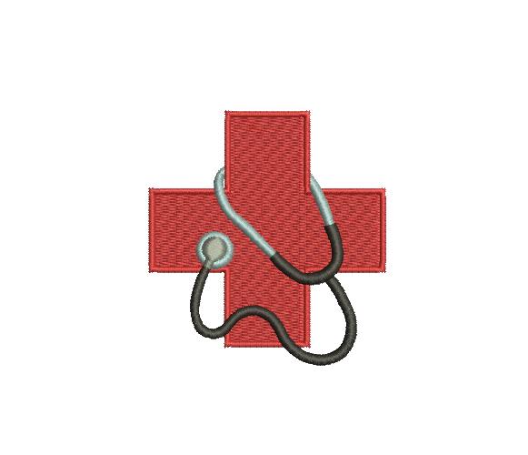 Red Cross Stethoscope