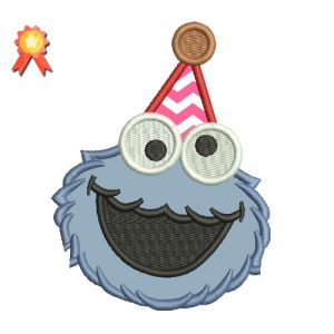 First birthday Cookie Monster 2