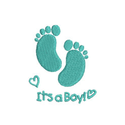 It Is a Boy Machine Embroidery Design