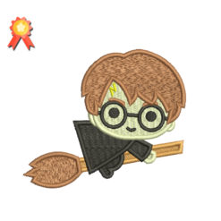 Mini Harry Potter Machine Embroidery Design