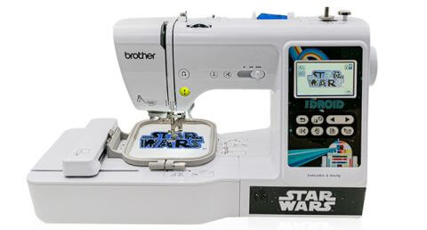 Brother LB5000S Sewing & Embroidery Machine Star Wars Edition