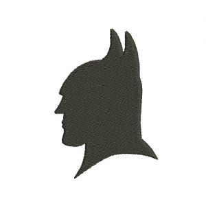Batman Mask Machine Embroidery Design
