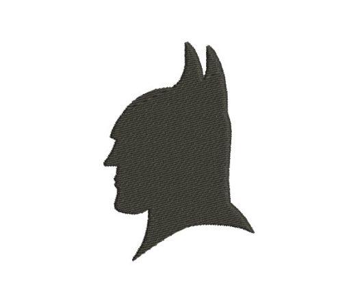 Batman Mask Machine Embroidery Design