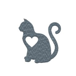 Cat Lover Machine Embroidery Design
