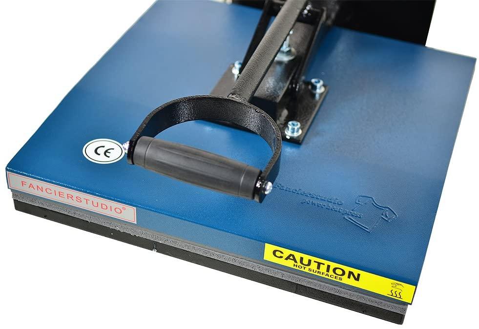 Fancierstudio Power Heat Press Machine Digital 15″ by 15″ 5