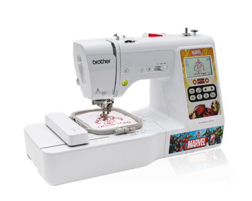 Brother LB5000M marvel edition embroidery machine