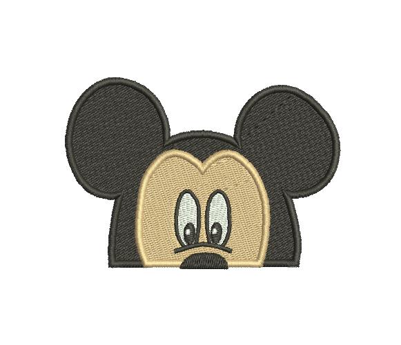 Cara de Mickey Mouse