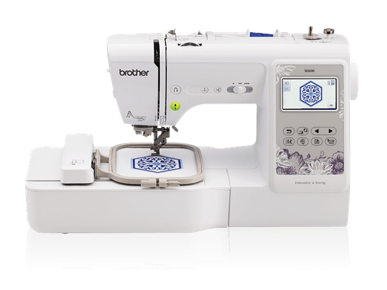 Brother SE600 embroidery machine