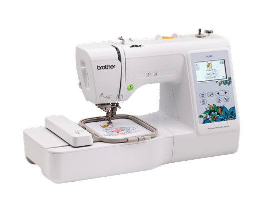 brother pe535 embroidery sewing machine