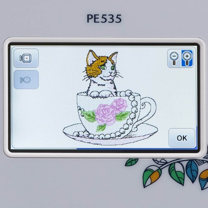 pe535 embroidery machine