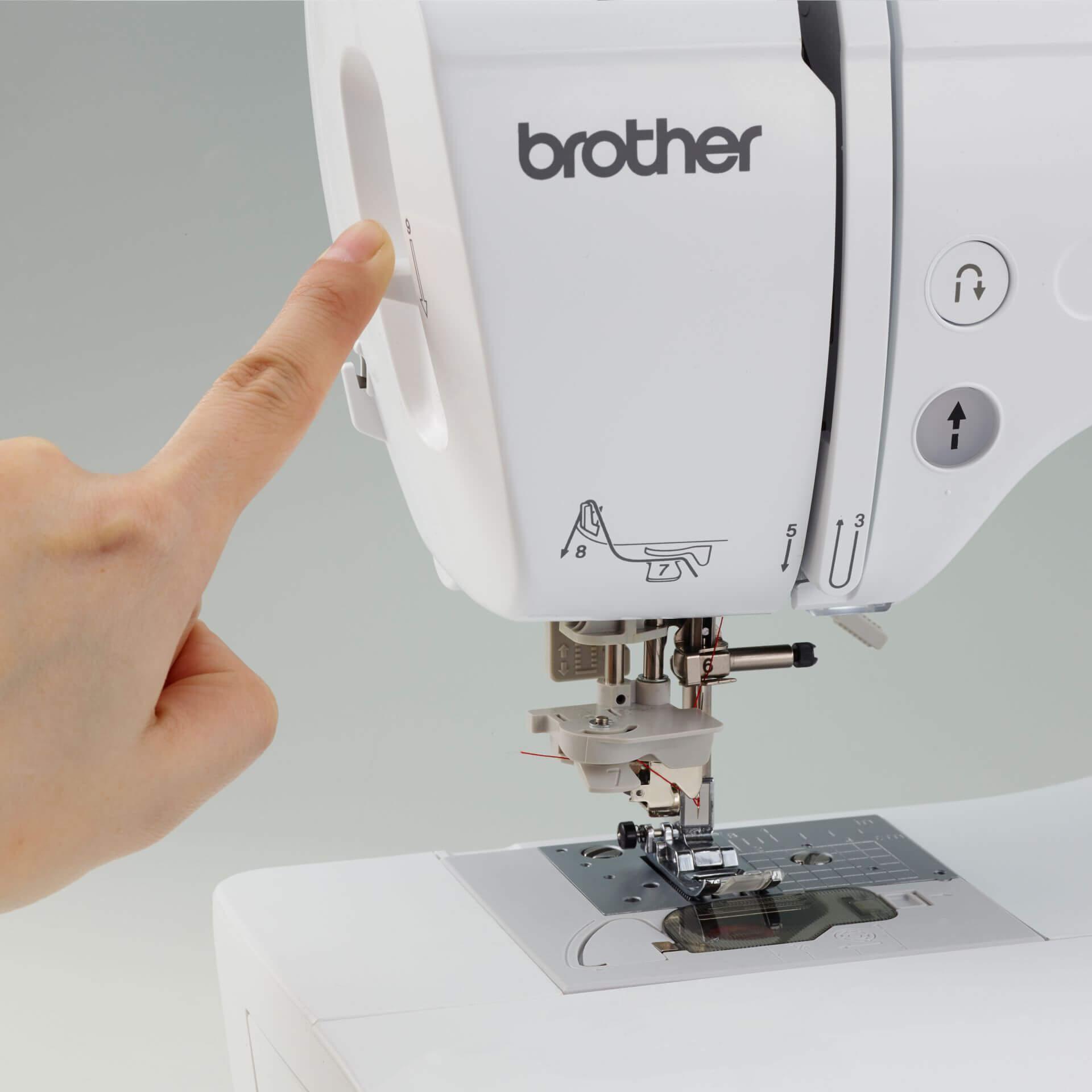 se600 embroidery machine Automatic needle threader