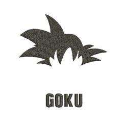 Goku Machine Embroidery Design