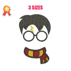 Harry Potter Machine Embroidery Design