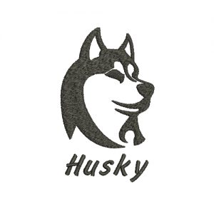 Husky Machine Embroidery Design