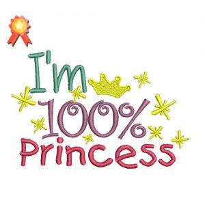 I'm 100% Princess