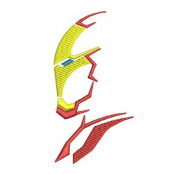 Iron Man Machine Embroidery Design