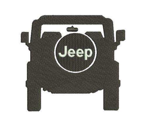Jeep Machine Embroidery Design