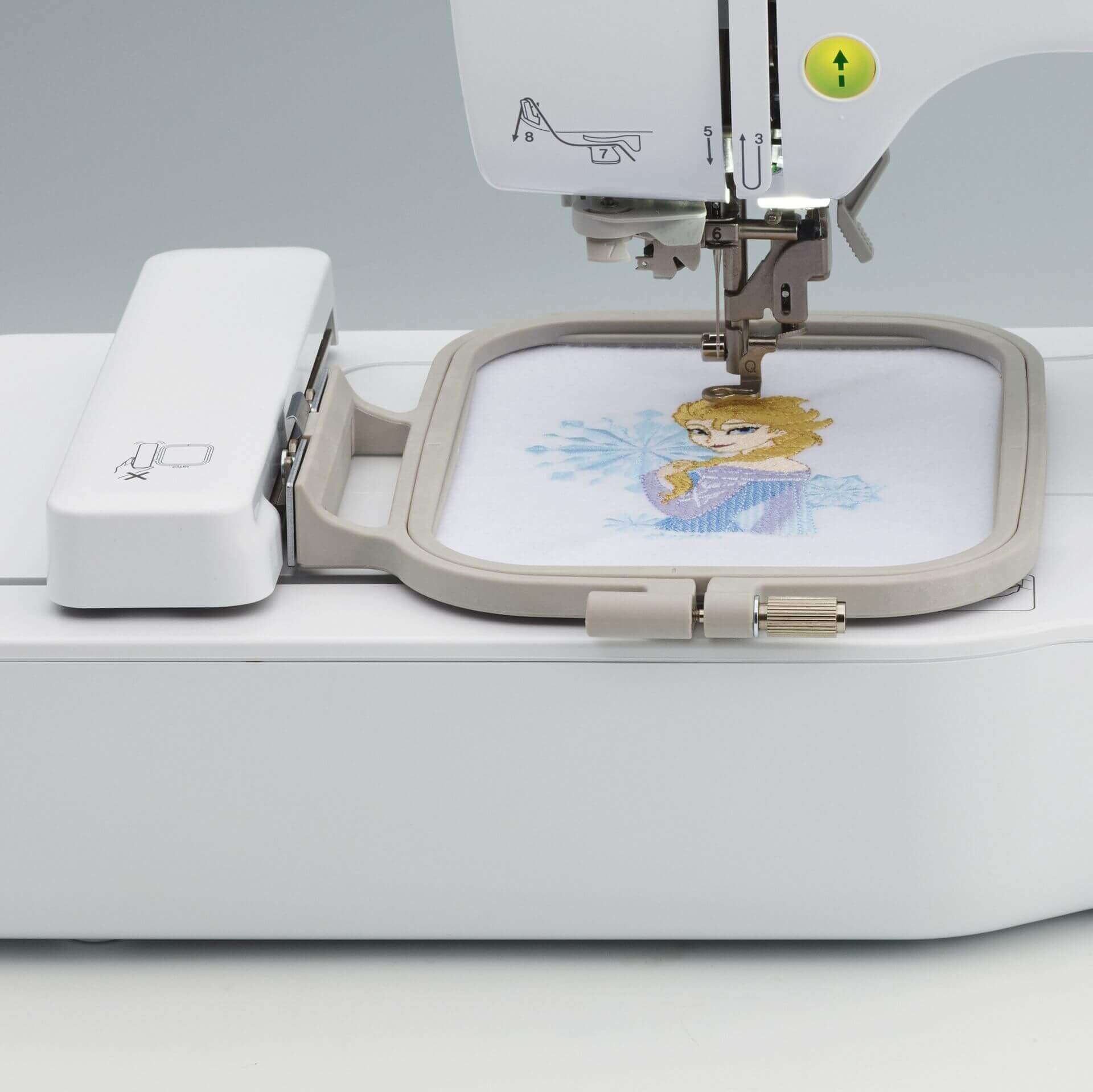 brother PE550D embroidery machine