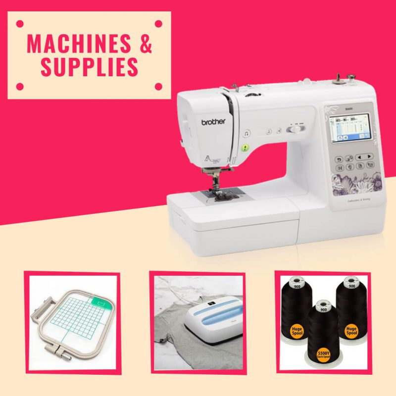 machines and supplies
